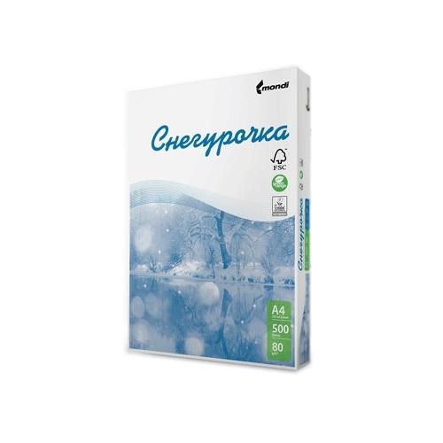Бумага Снегурочка A4 80g/m2 500 листов 110071