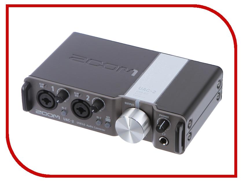 Купить Двухканальный интерфейс Zoom UAC-2