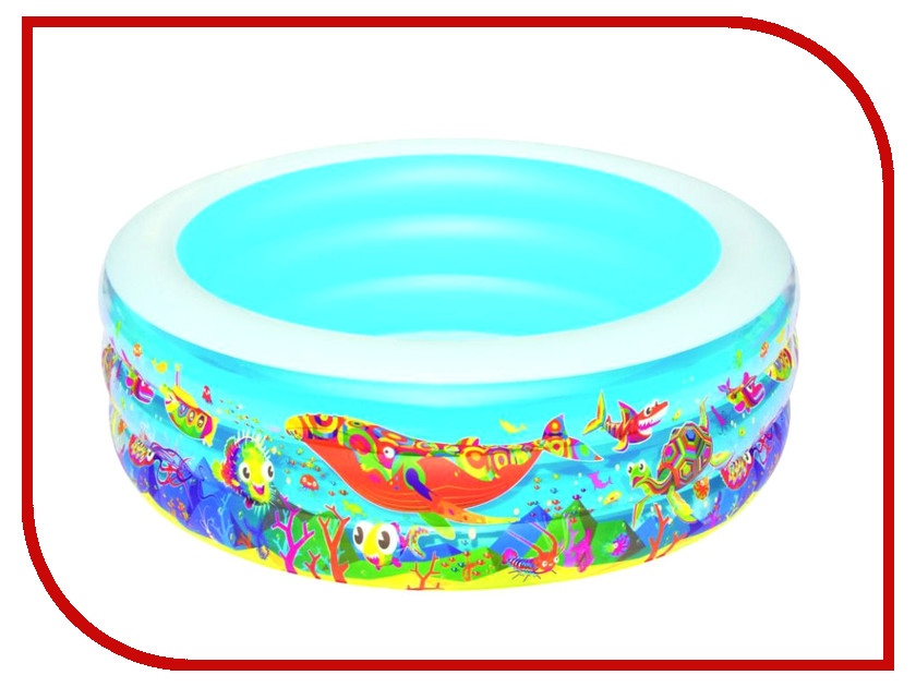 Купить Детский бассейн BestWay Подводный мир 51121B