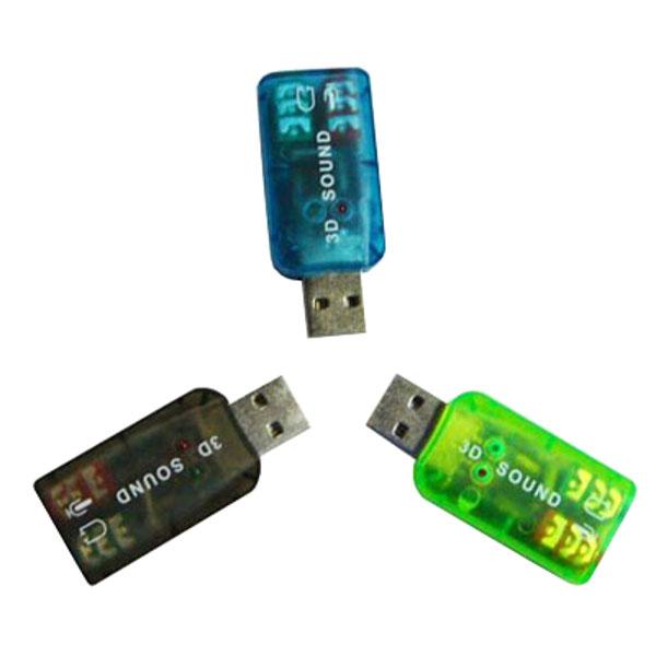 onlime card Звуковая карта ATcom USB-sound Card 5.1 3D Sound AT7807