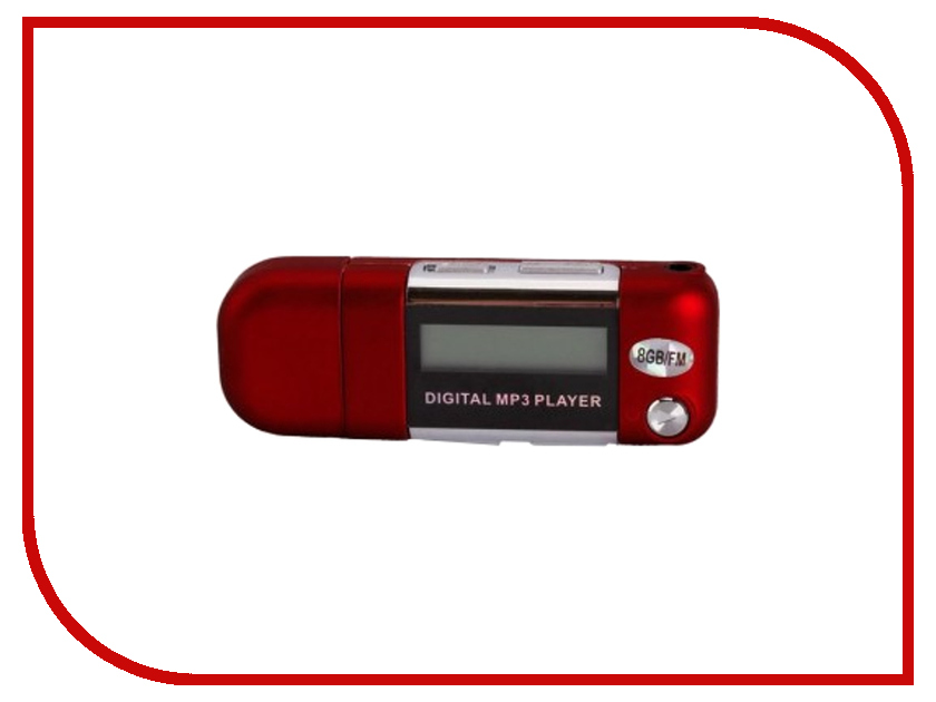 Купить Плеер Perfeo Music Strong VI-M010-8GB Red