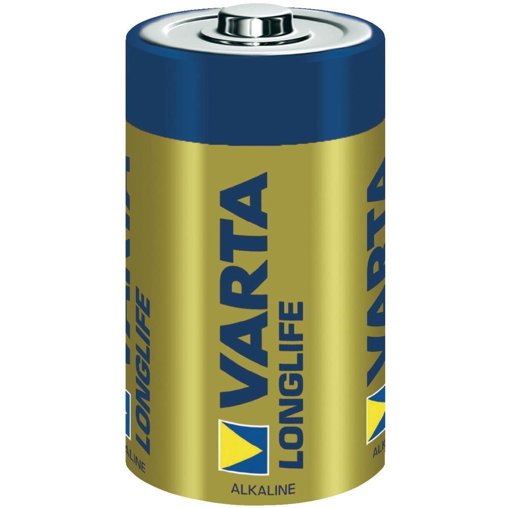 Батарейка D - Varta Longlife 4120 LR20 (2 штуки) 12816