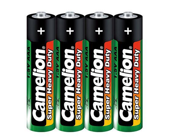 Батарейка AAA - Camelion Green R03 R03P-BP4G (4 штуки) батарейка aaa energizer eveready r03 1 5v 4 штуки e301156200