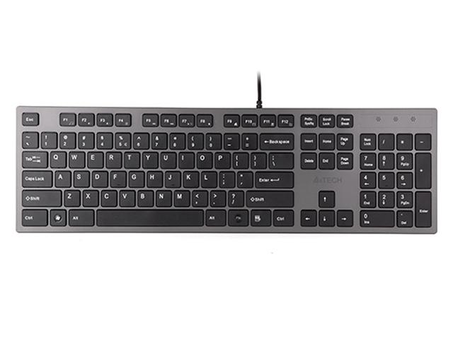 Клавиатура A4Tech KV-300H Dark Grey USB
