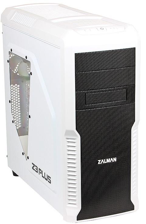 z3 plus Корпус Zalman Miditower Z3 Plus White