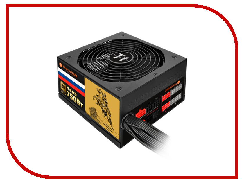 Купить Блок питания Thermaltake Russian Gold Neva 750W W0427RE