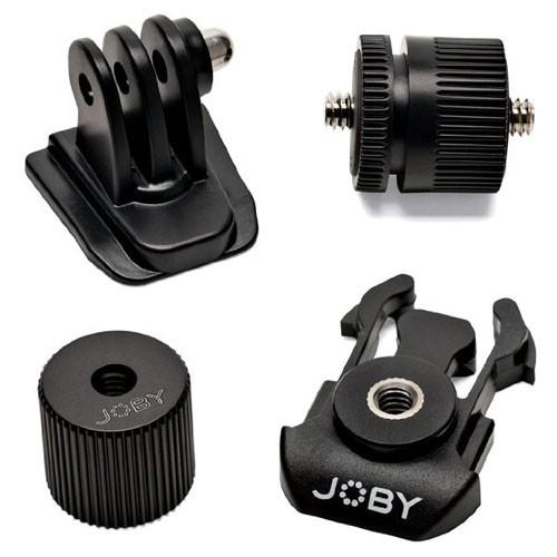 набор магнитных угольников foxweld fix kit 4 Аксессуар Набор адаптеров Joby Action Adapter Kit Black JB01345-CWW
