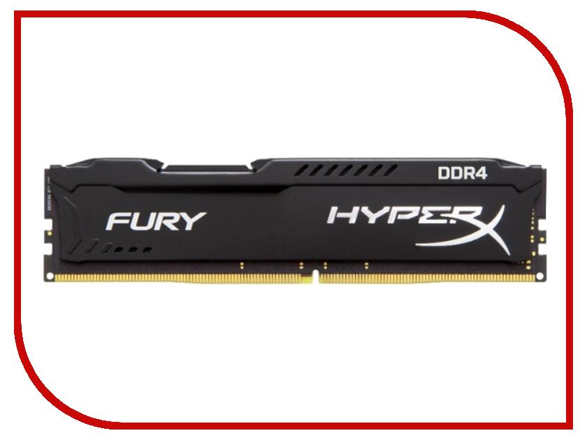 Купить Модуль памяти Kingston HyperX Fury PC4-21300 DIMM DDR4 2666MHz CL15 - 4Gb HX426C15FB/4