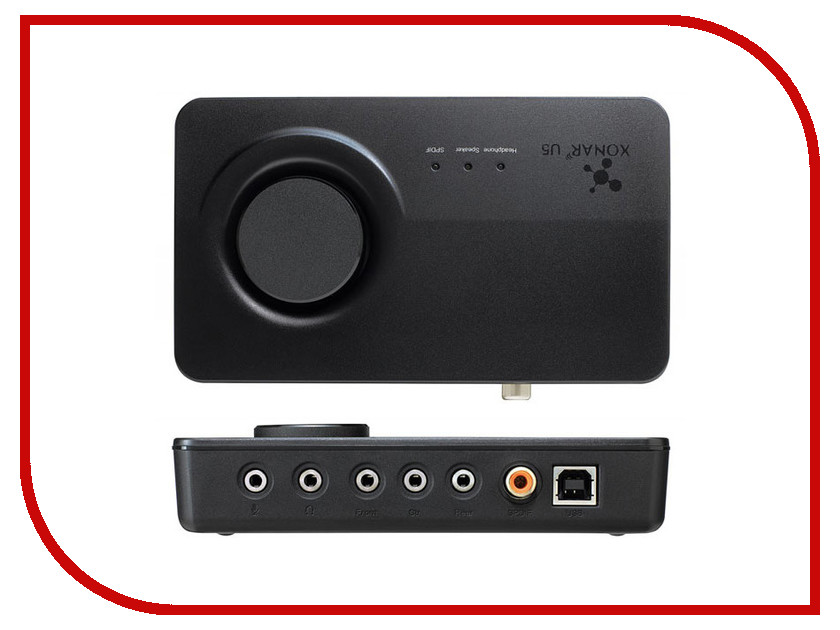 Купить Звуковая карта ASUS Xonar U5