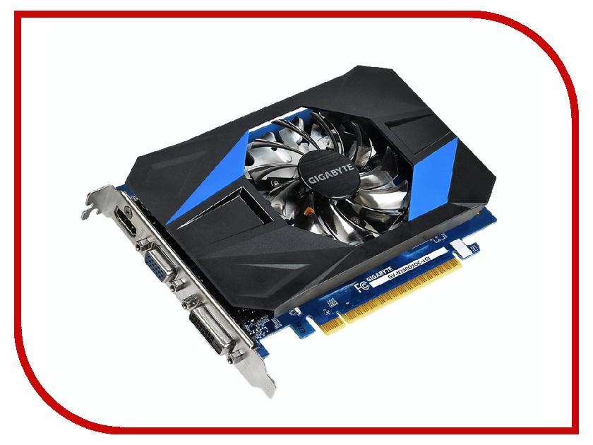 Видеокарта GigaByte GeForce GT 730 1066Mhz PCI-E 2.0 1024Mb 5000Mhz 64 bit DVI HDMI HDCP GV-N730D5OC-1GI
