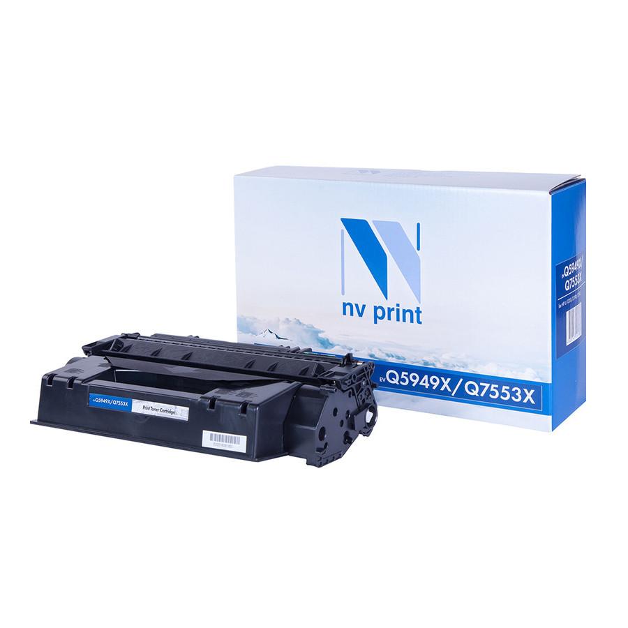 Фото - Картридж NV Print Q5949X / Q7553X для LJ 1320/3390/3392/P2014/P2015/M2727 картридж лазерный mse q5949x 49x xl mse черный 6000стр для hp lj 1320 3390 3392