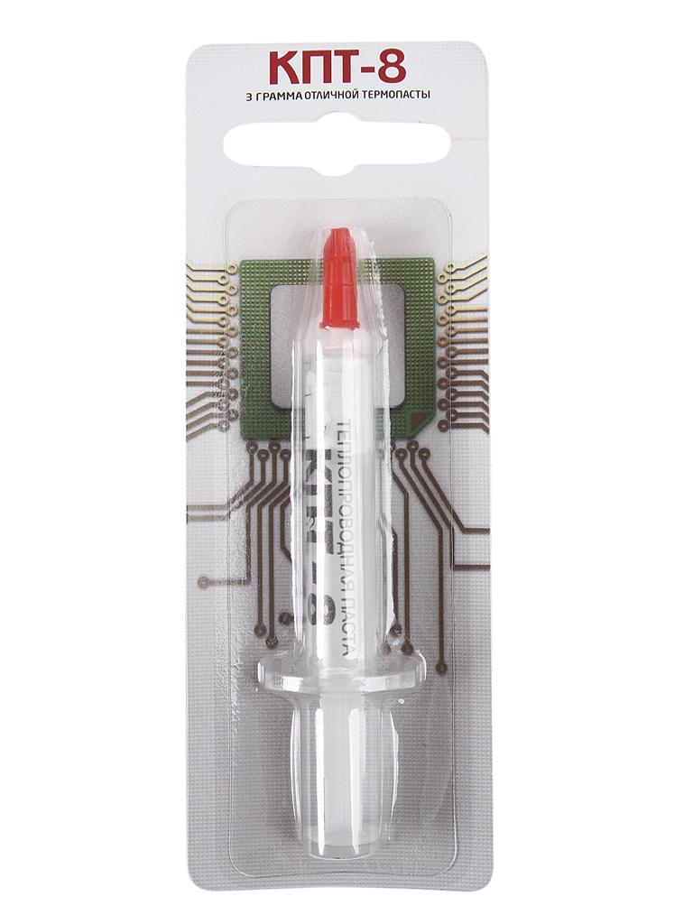 термопаста кпт термо 8 50г Термопаста КПТ Термо 8 3г