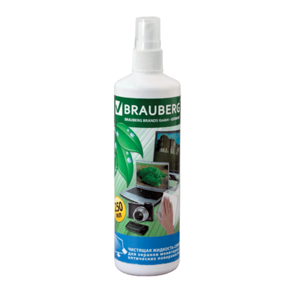 Чистящая жидкость Brauberg 250ml 510117