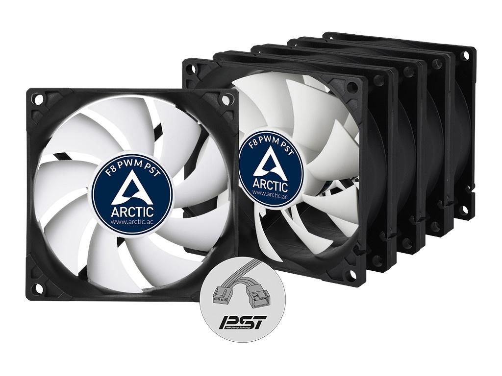 Вентилятор Arctic Cooling F8 PWM PST Value Pack ACFAN00064A 80mm
