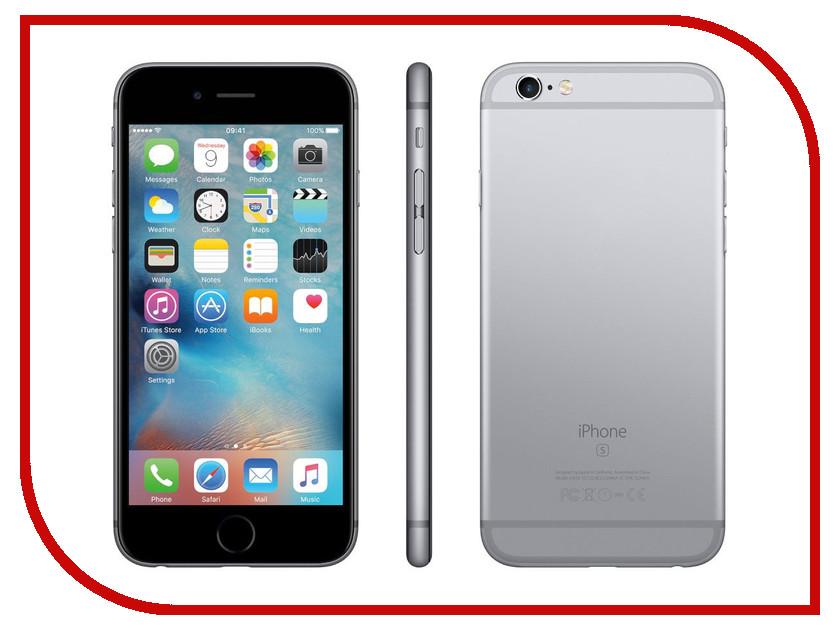 Купить Сотовый телефон APPLE iPhone 6S - 128Gb Space Gray MKQT2RU/A