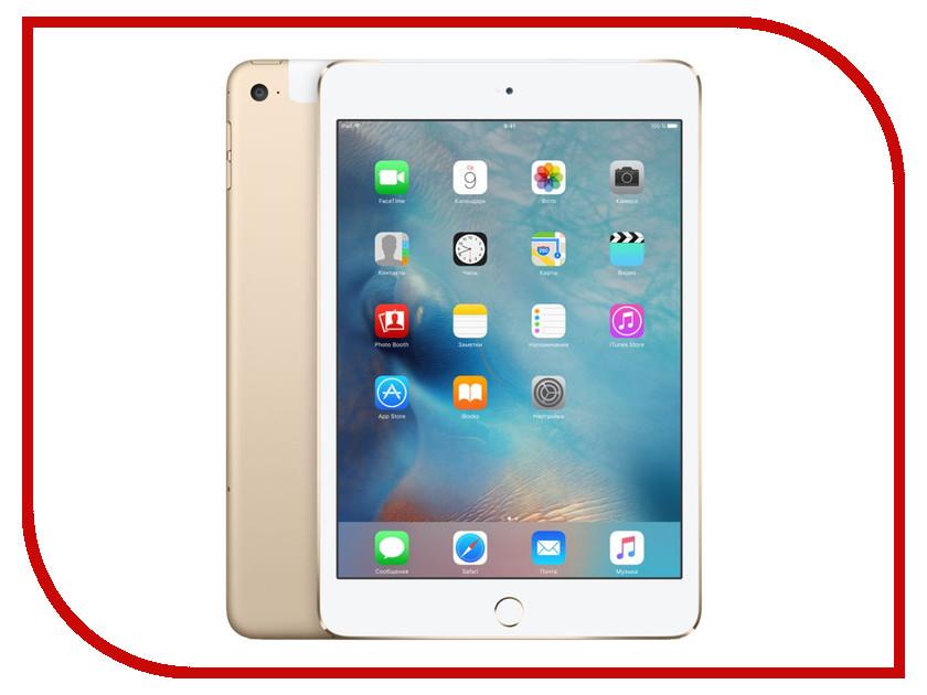 Купить Планшет APPLE iPad mini 4 128Gb Wi-Fi + Cellular Gold MK782RU/A