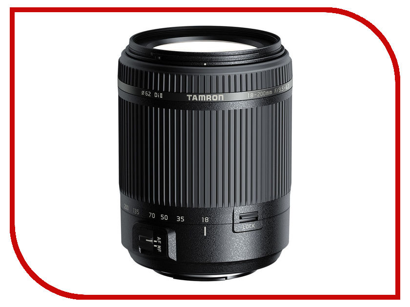 Купить Объектив Tamron AF 18-200mm f/3.5-6.3 DI II Minolta A