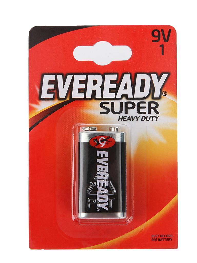 Батарейка КРОНА Energizer Eveready Super 6F22 (1 штука) E301155400 / 11643