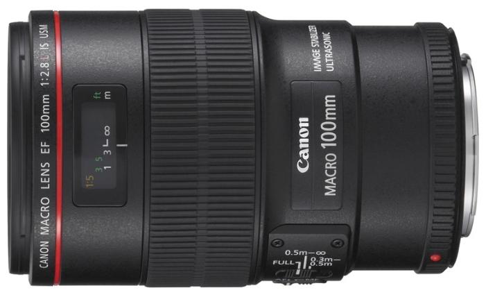 фотоаппарат canon eos 77d kit ef s 18 135 mm f 3 5 5 6 is usm Объектив Canon EF 100mm f/2.8L Macro IS USM