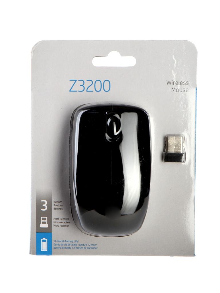 hp 45 51645ae black Мышь HP Z3200 Wireless USB Black J0E44AA