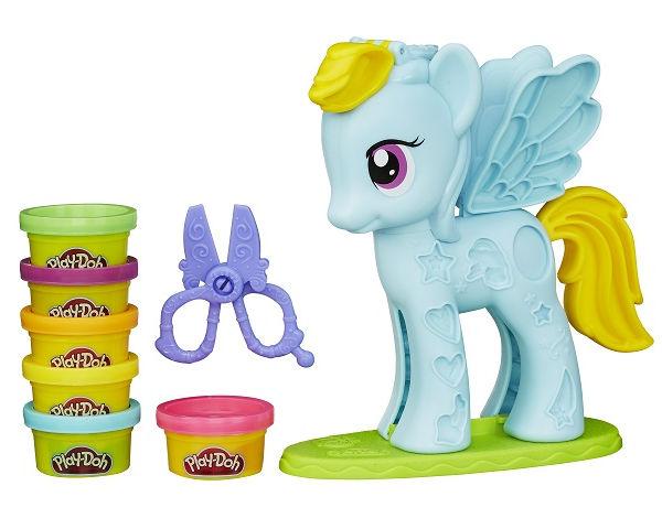 салон маранц Игрушка Hasbro Play-Doh Стильный салон Рэйнбоу Дэш B0011