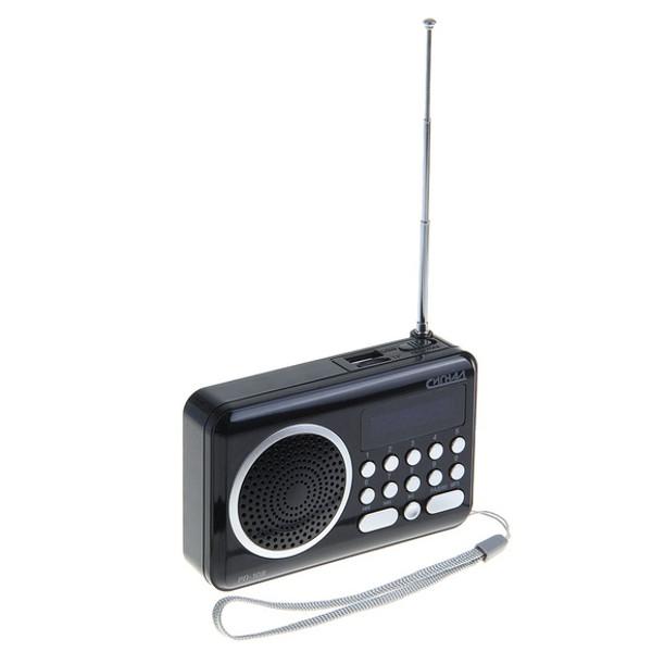 Купить Радиоприемник Сигнал electronics РП-108 Black