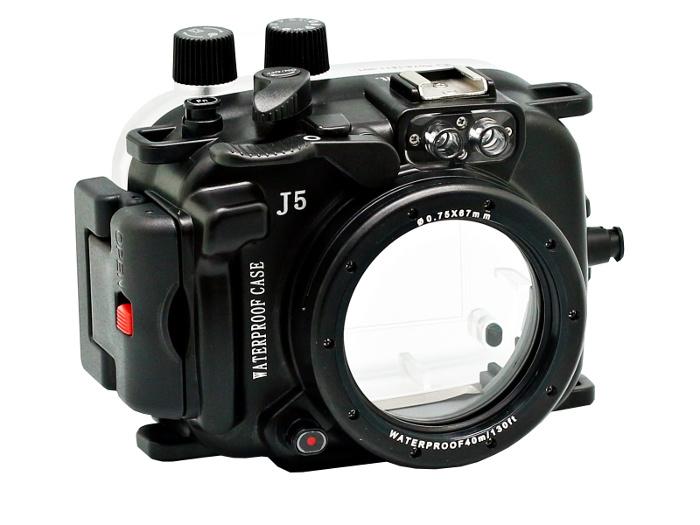 аквабокс студия новичка Аквабокс Meikon Nikon 1 J5 Kit 10mm со сменными портами