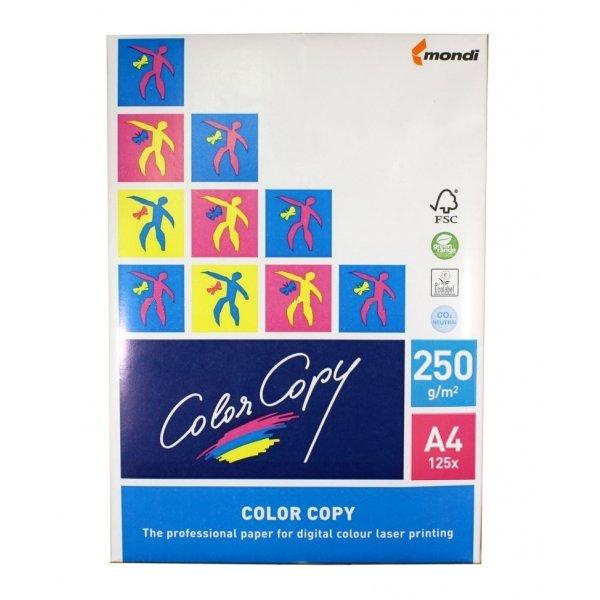 Бумага Color Copy A4 250g/m2 125 листов 110397