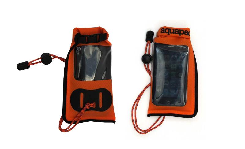 аквабокс студия новичка Аквабокс Aquapac Small Stormproof Phone Case Orange 035