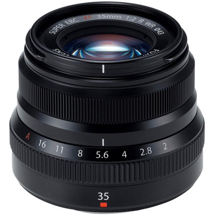 объектив fujifilm xf 56mm f 1 2 r Объектив Fujifilm XF 35 mm F/2 R WR Black*