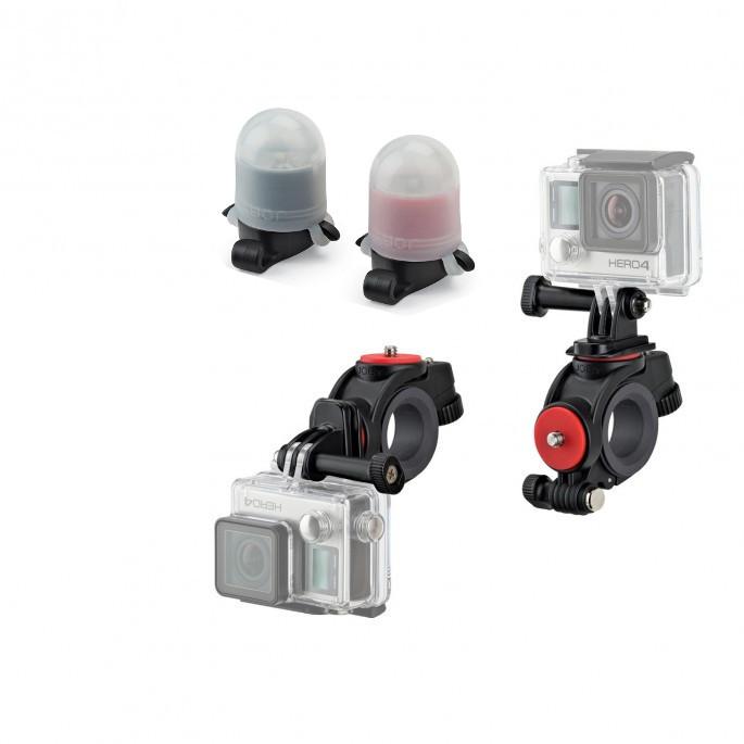 Держатель Joby Action Bike Mount Black JB01388-BWW для экшн-камер с передним и задним фонарями