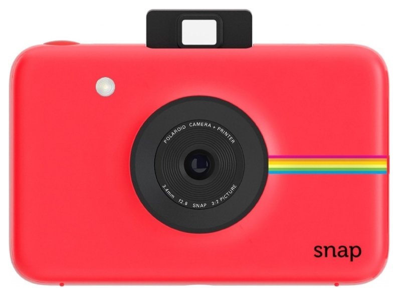 конструктор фотоаппарат Фотоаппарат Polaroid Snap Red