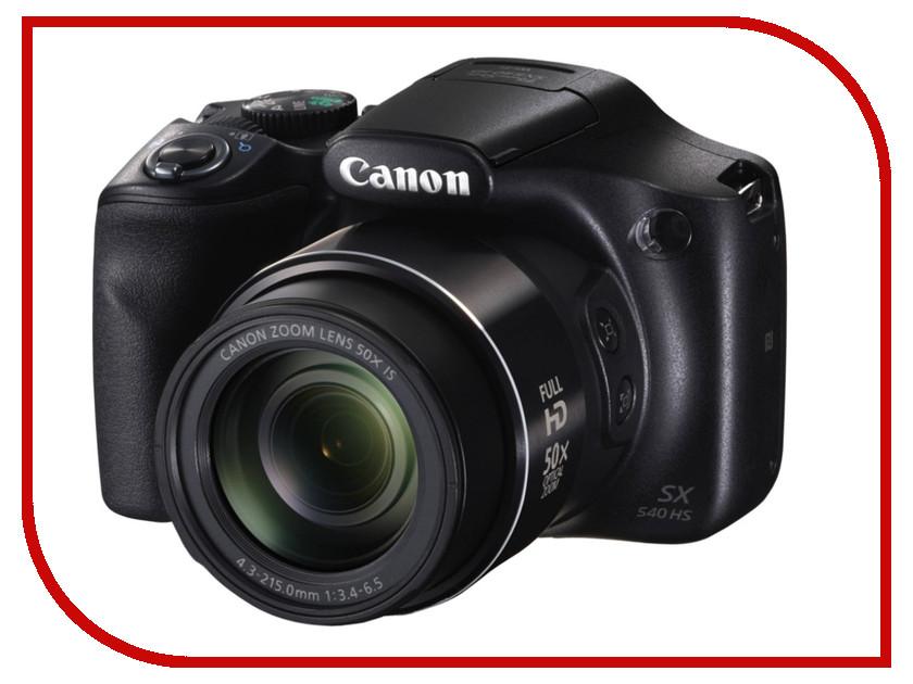 Купить Фотоаппарат Canon PowerShot SX540 HS, Япония