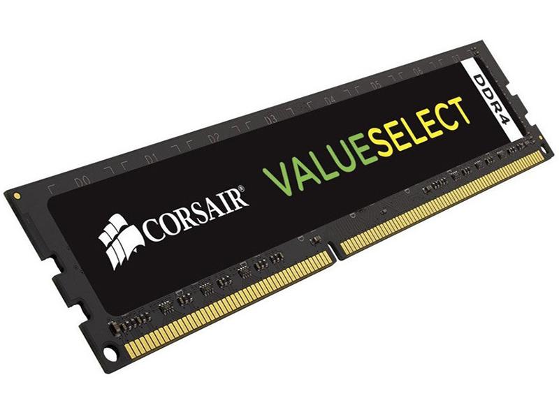 Купить Модуль памяти Corsair ValueSelect DDR4 DIMM 2133MHz PC4-17000 CL15 - 8Gb CMV8GX4M1A2133C15