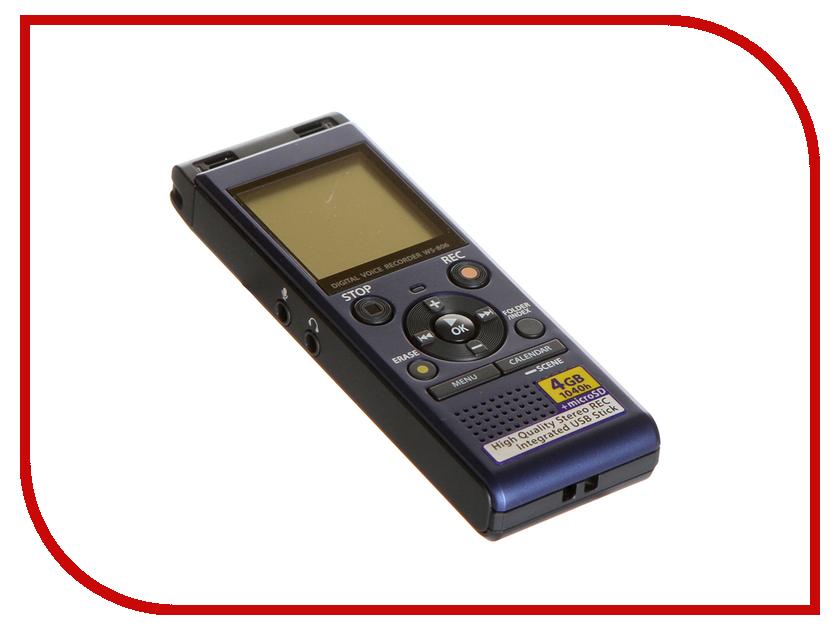 Купить Диктофон Olympus WS-806 Blue