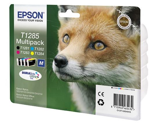 epson s22 купить Картридж Epson T1285 C13T12854010/C13T12854012