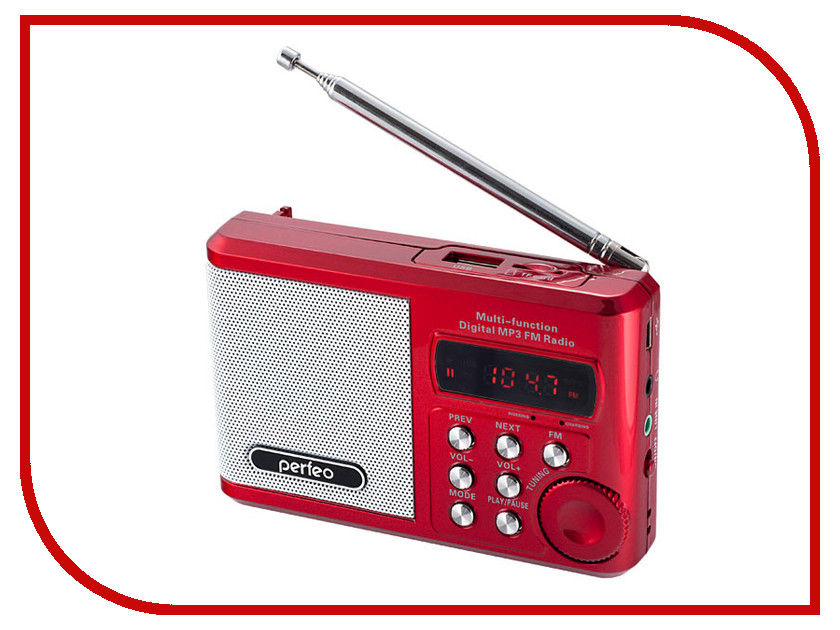 Купить Радиоприемник Perfeo PF-SV922RED Red