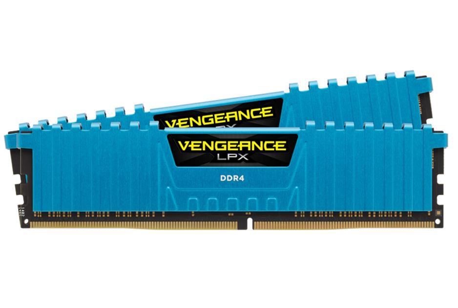 Купить Модуль памяти Corsair Vengeance LPX PC4-24000 DIMM DDR4 3000MHz CL15 - 16Gb (2x8Gb) CMK16GX4M2B3000C15B