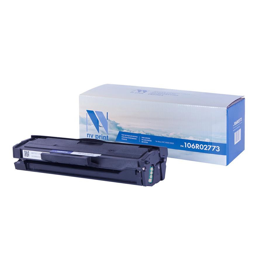 Картридж NV Print 106R02773 для Xerox Phaser WC 3020/3025 тонер картридж xerox 106r02773 1 5k phaser 3020 wc 3025