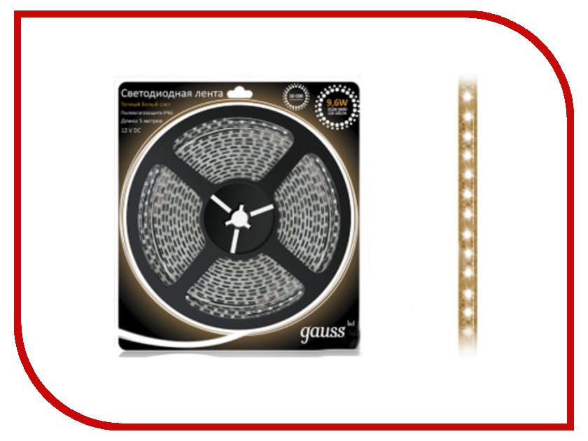 Купить Светодиодная лента Gauss LED 3528/120-SMD 9.6W 12V DC 5m EB311000110