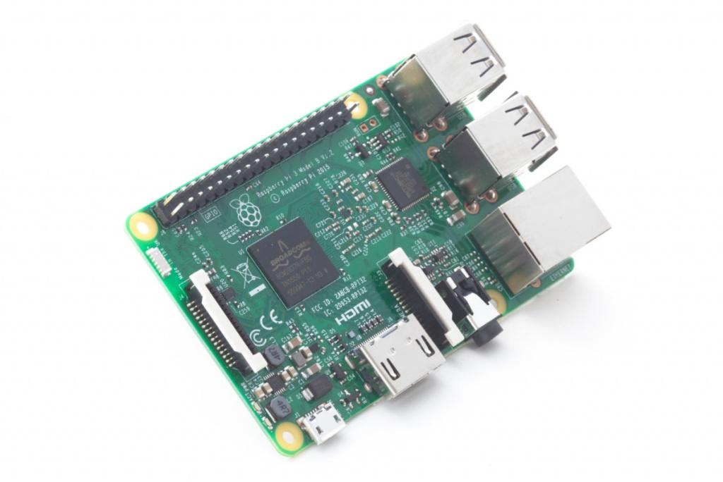 Мини ПК Raspberry PI 3 Model B 1Gb