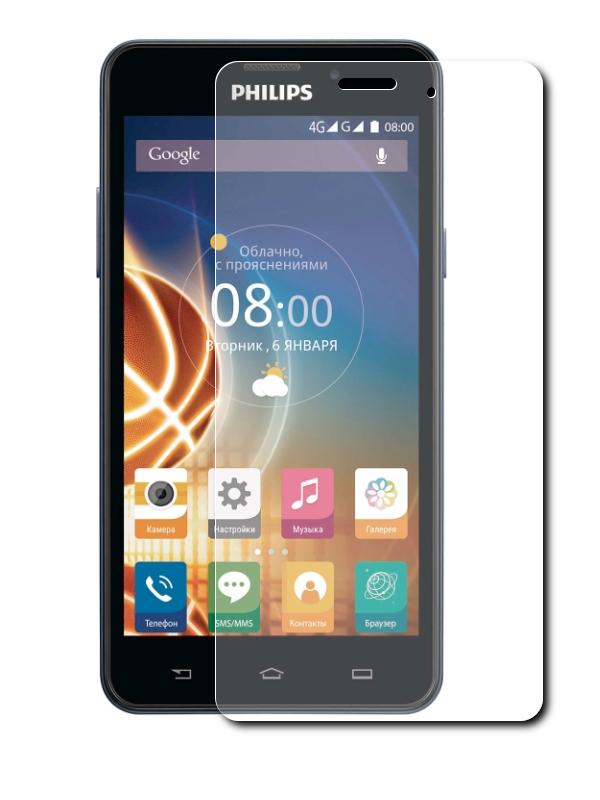купить телефон philips xenium 5500 Аксессуар Защитное стекло CaseGuru для Philips Xenium V526 85946