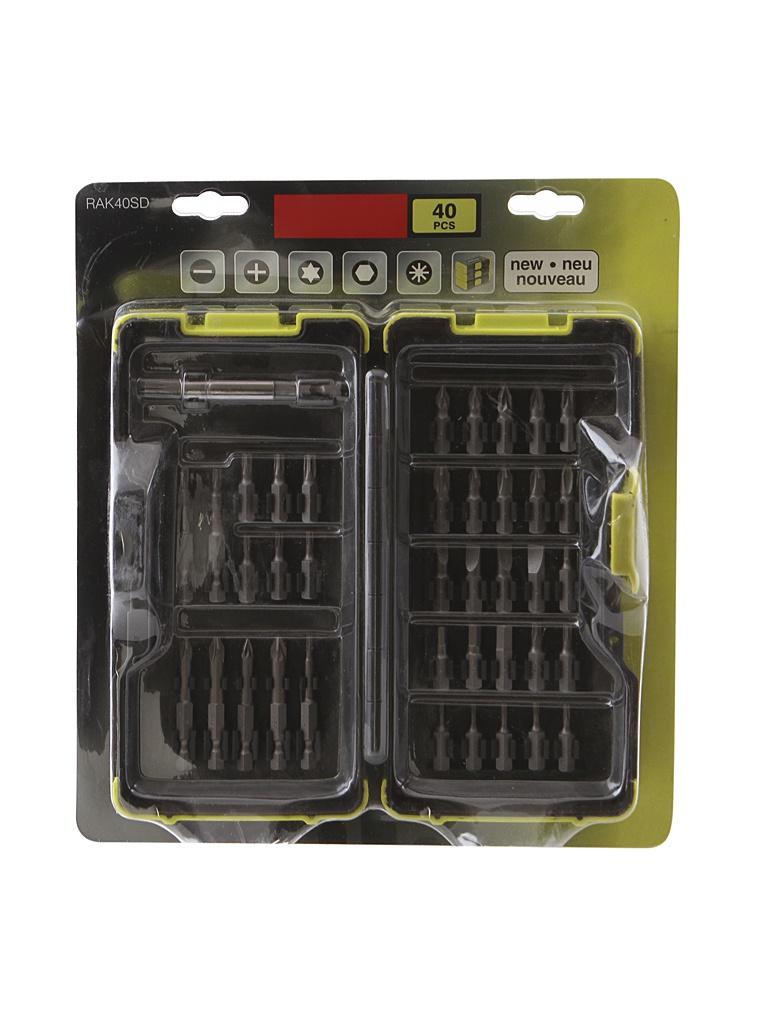 магнитный держатель для ножей regent inox 60см 93 bl jh3 Набор бит Ryobi RAK40SD 40шт 5132002257