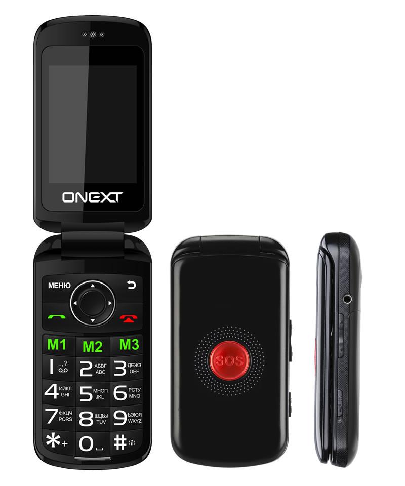 купить телефон самсунг галакси джи 1 2016 Сотовый телефон Onext Care-Phone 6 Black