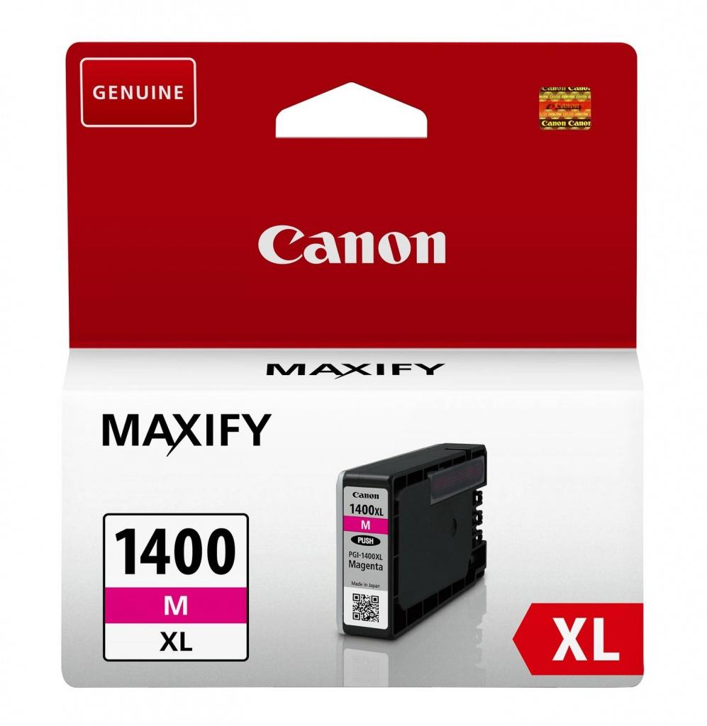Картридж Canon PGI-1400M XL Magenta для MAXIFY МВ2040/МВ2340 9203B001 PGI-1400XL