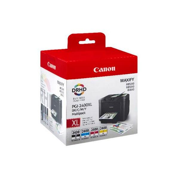 Картридж Canon PGI-2400BK/C/M/Y XL EMB MULTI для MAXIFY iB4040/MB5040/MB5340 9257B004 PGI-2400XL