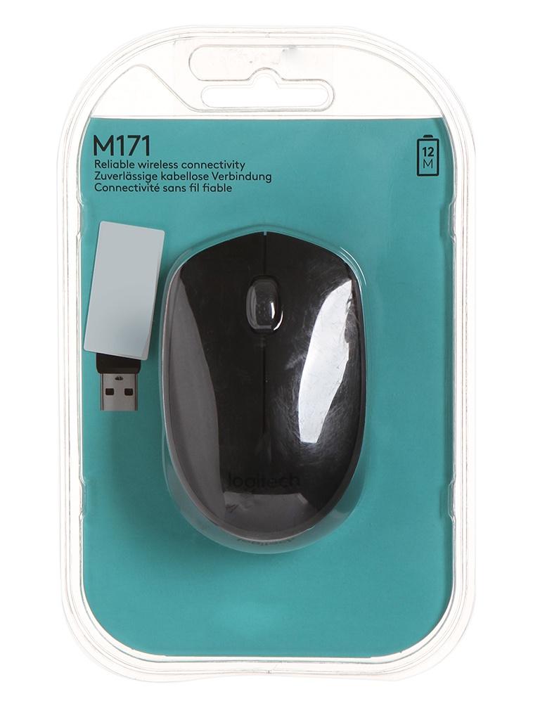 мышь logitech wireless mini mouse m187 red 910 002737 910 002732 Мышь Logitech M171 Wireless Black-Black 910-004424