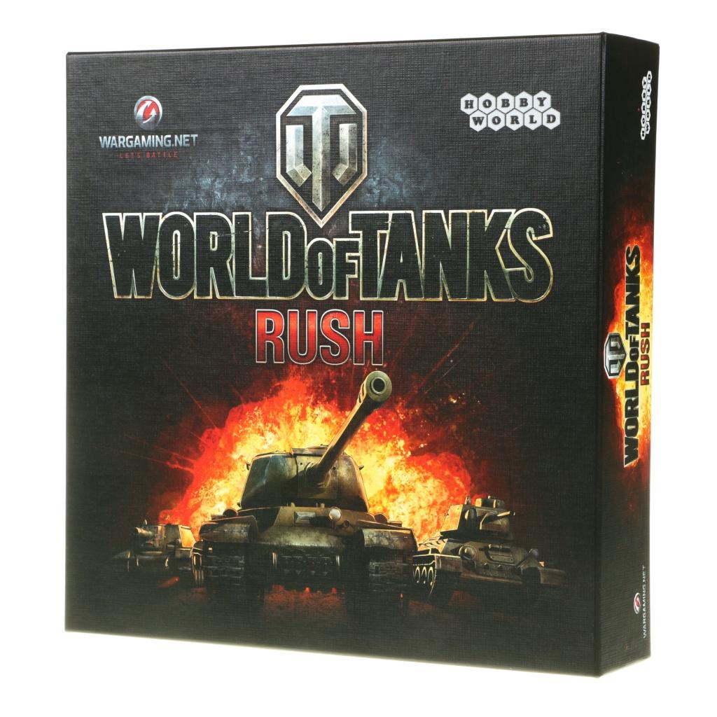 Настольная игра Hobby World World of Tanks Rush 1341
