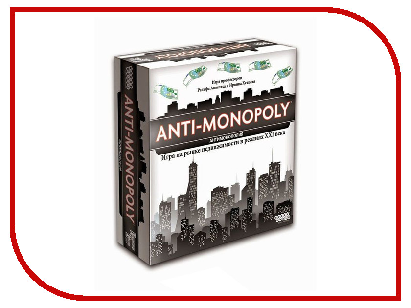 Купить Настольная игра Hobby World Антимонополия 1269