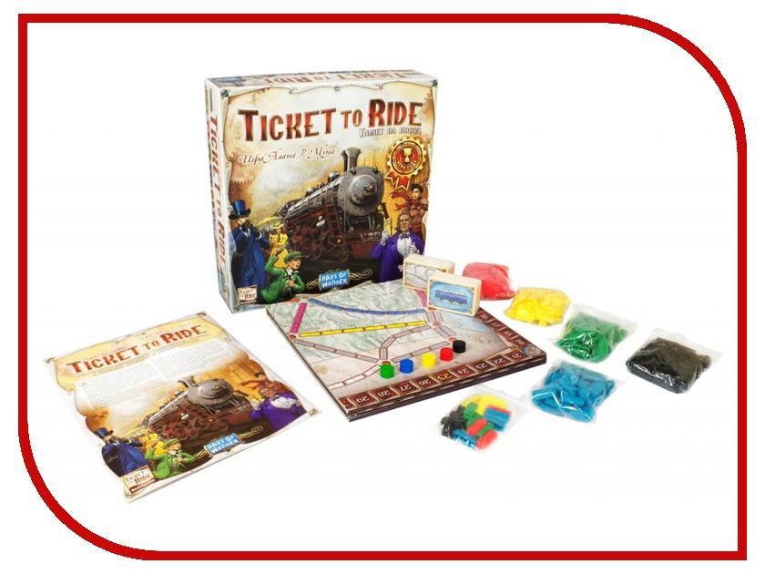 Купить Настольная игра Hobby World Ticket Ride Америка 1530
